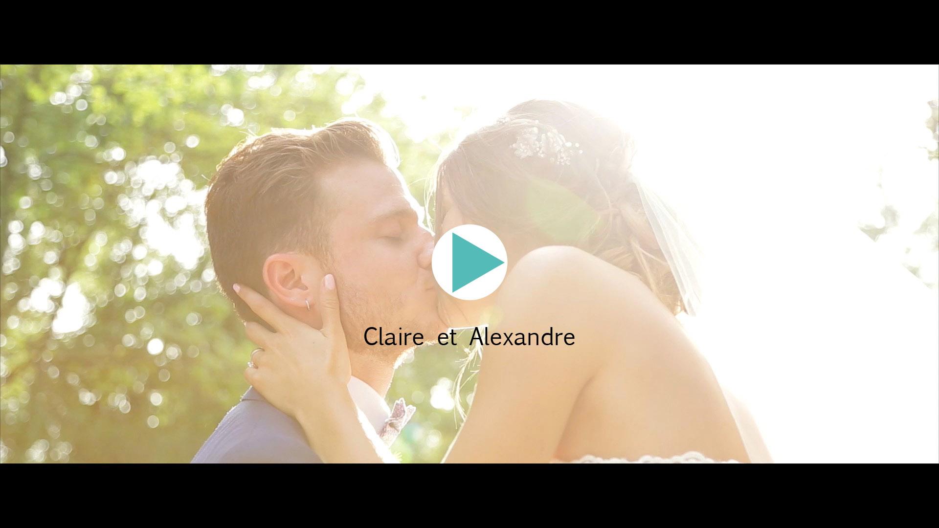 Vidéo du mariage de Claire et Alexandre
